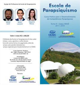 Escola de Parapsiquismo - módulo II @ Campus da Associação ARACÊ